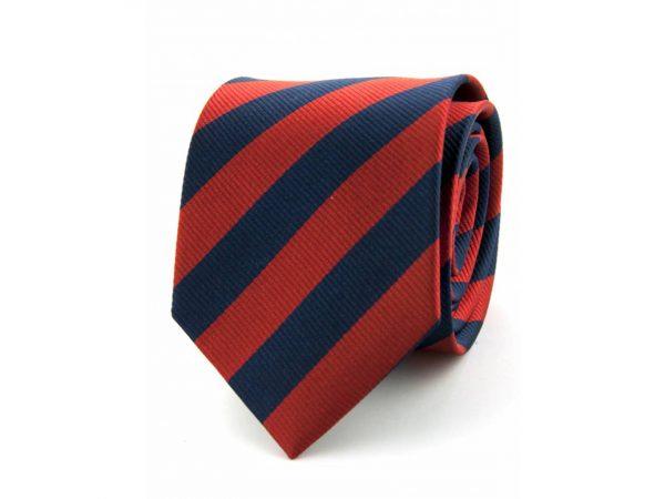 100-zijde-stropdas-marineblauw-rood