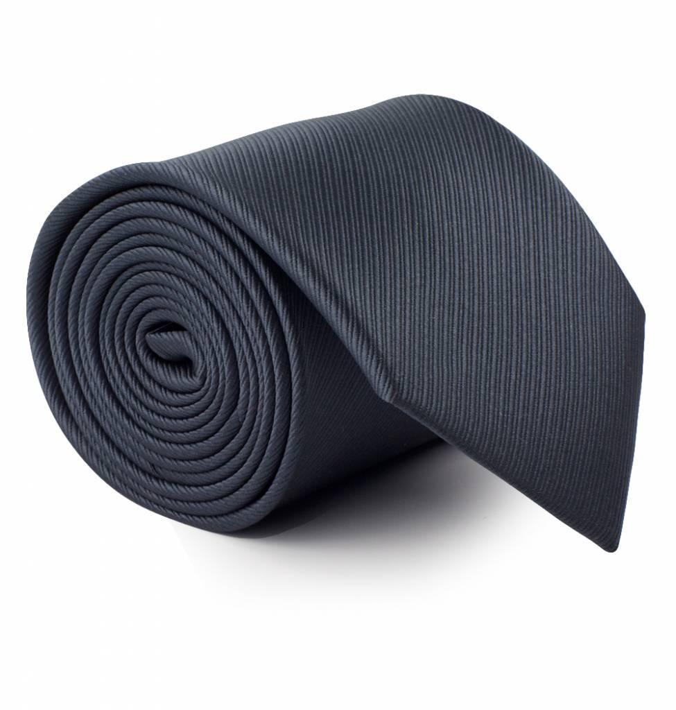 stropdas-antraciet-grijs
