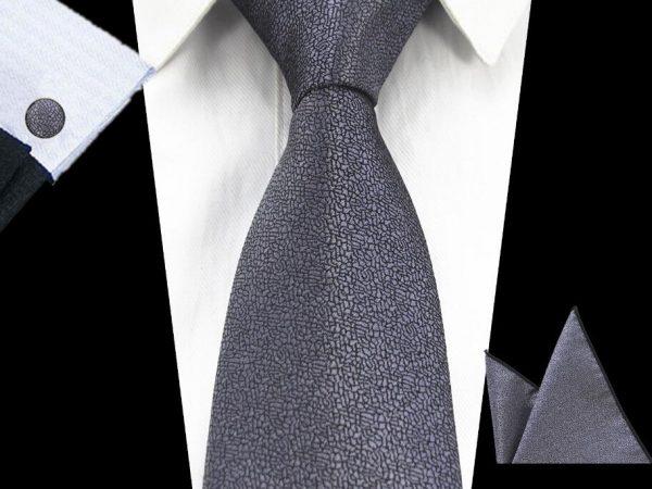RBOCOTT-stropdas-pochet-manchetknopen-luxe-goud-grijs