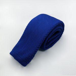 gebreide-stropdas-blauw-effen3