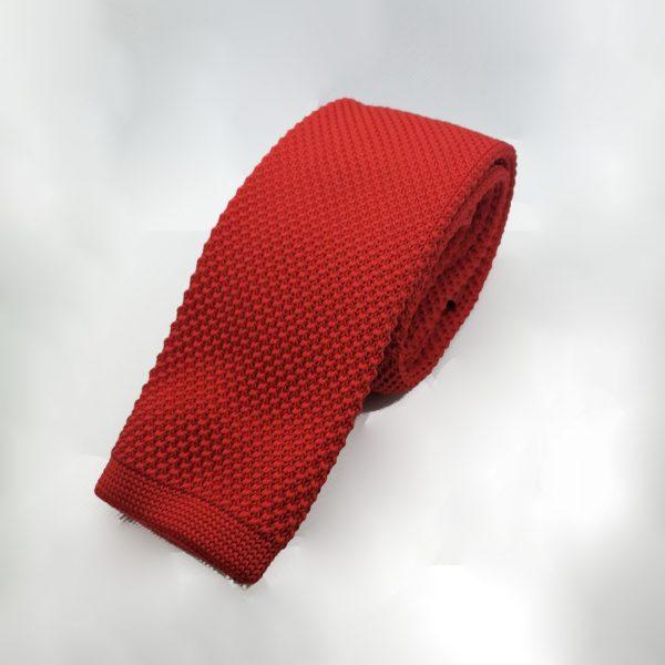 gebreide-stropdas-rood-effen3