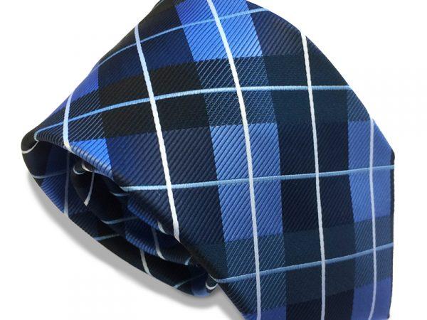 ruit-stropdas-blauw