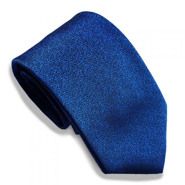 stropdas-blauw-effen