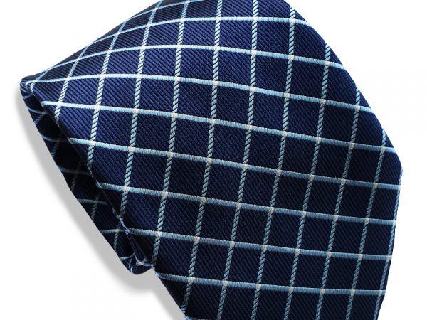 stropdas-blauw-geblokt