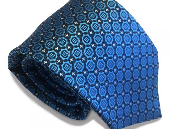stropdas-blauw-patroon