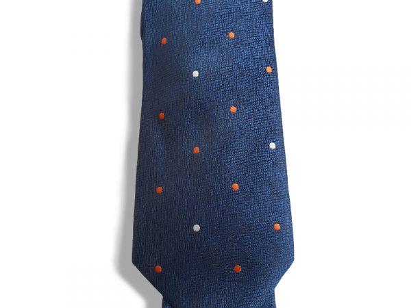 stropdas-blauw-stippen