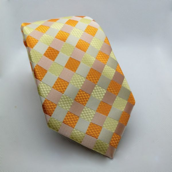stropdas-oranje-ruit3