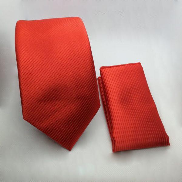 stropdas-rood-pochet