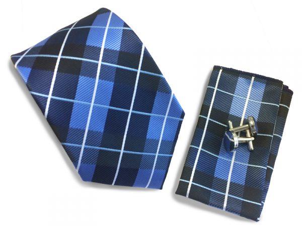 stropdas-set-donker-blauw