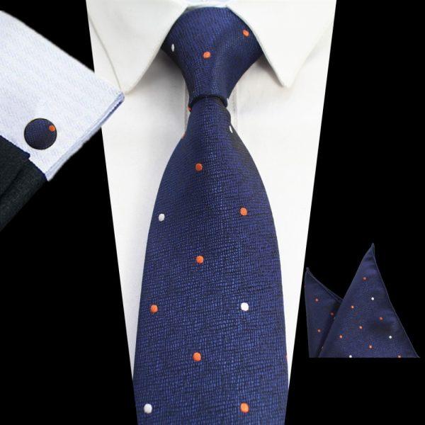 stropdassen-set-blauw-stippen