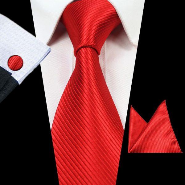 stropdassen-set-rood