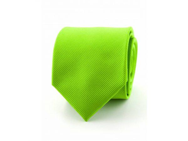 zijde-stropdas-appelgroen