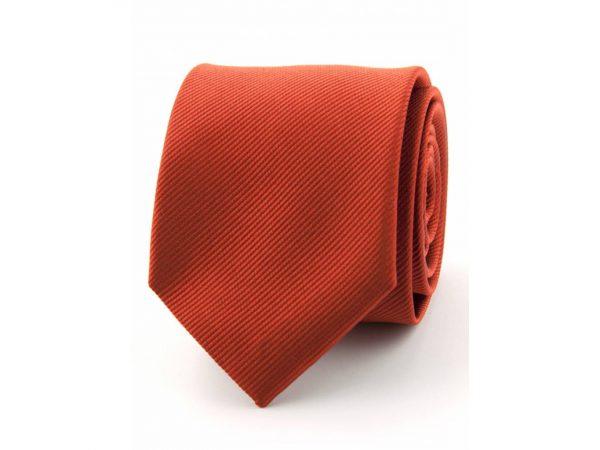 zijde-stropdas-brique-rood
